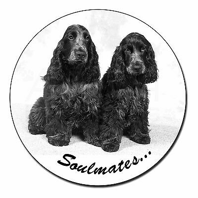 "Dog Fridge Magnet /""I HAVE O.C.D./""  by Starprint Black Cocker Spaniel"