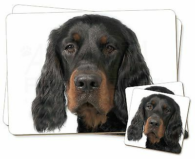 Gordon Setter Twin 2x Placemats+2x Coasters Set in Gift Box, AD-GOR3PC