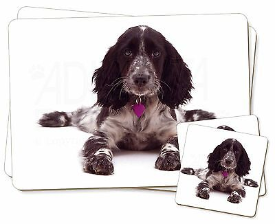 AD-SC56P Cocker Spaniel /'Yours Forever/' Picture Placemats in Gift Box