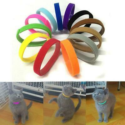 12pcs New Pet Puppy Dog Identification Collar Whelping ID Collar Bands Set LA