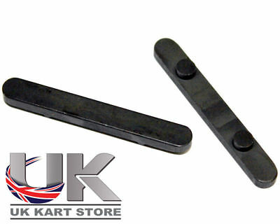 Ancorato Asse Chiave 30mm (C-C) x 6mm x 2 UK KART STORE