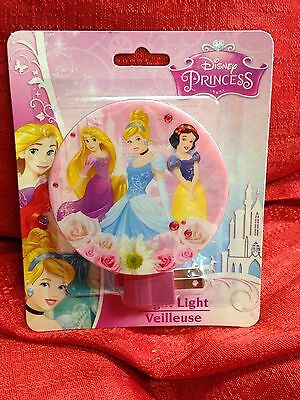 Disney Princess Night Light FREE Shipping Sealed Cinderella Snow White Rupunzel