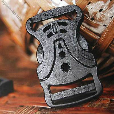"5/10/50 pcs Black Multi-Hole V shape Buckle unique Fashion For 1"" Belt M408-25"