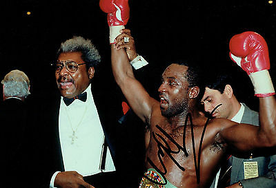 Nigel BENN Signed Autograph 12x8 Photo C AFTAL COA British World Champion Boxer