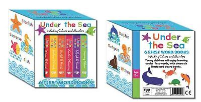 Look & Learn Under The Sea 6 First Words Books Boxed Set