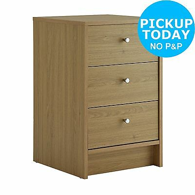 New Malibu Bedside Chest - Oak. From the Official Argos Shop on ebay