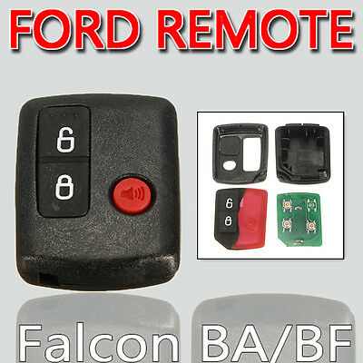 For Ford BA BF Falcon Territory SX SY Wagons Car Keyless Entry Remote 3 Button