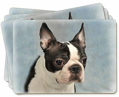 Boston Terrier Dog Picture Placemats in Gift Box, AD-BT8P