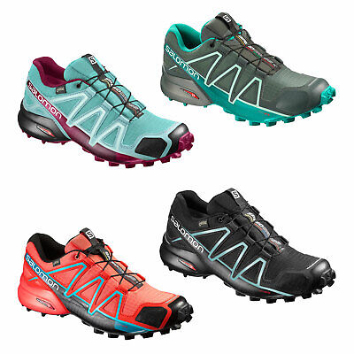 hot sale online 151a8 e7df4 SALOMON SPEEDCROSS 4 W GTX GoreTex Damen-Laufschuhe Outdoorschuhe  wasserdicht