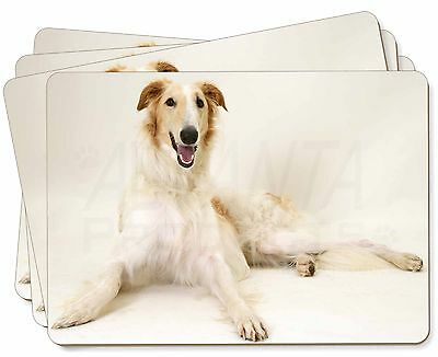 Borzoi Dog Picture Placemats in Gift Box, AD-BZ1P