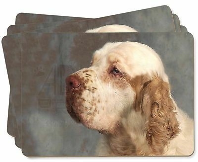 Clumber Spaniel Dog Picture Placemats in Gift Box, AD-CS1P