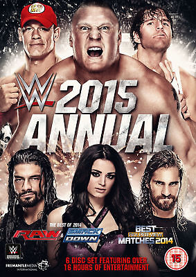 WWE Annual 2015 Best Of Raw And Smackdown & PPV Matches 2014 6x DVD