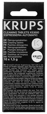Krups Xs 3000 Cleaning Tablets New