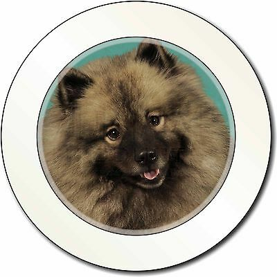Keeshond Dog Car/Van Permit Holder/Tax Disc Gift, AD-KEE1T