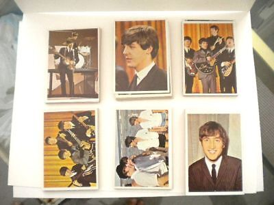 Beatles rare original high grade color cards set 1964