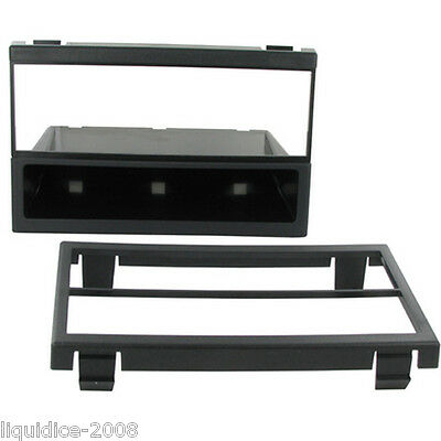 CT24MZ18 MAZDA TRIBUTE 2001 to 2006 BLACK SINGLE OR DOUBLE DIN FASCIA ADAPTER