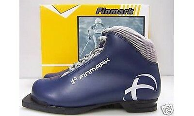 New Finmark XC Boot Size 8 cross country 75mm 3 Pin ski boots (7M 8.5W 40EUR)