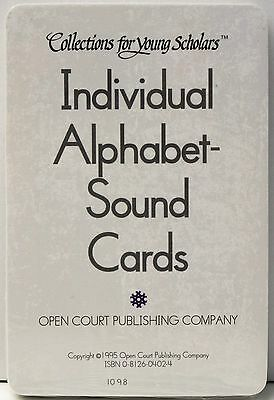 INDIVIDUAL ALPHABET SOUND Flash Cards - Grade K - Collections for young Scholars