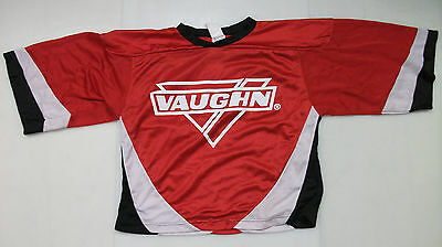 New Vaughn ice hockey goalie jersey junior XL jr boys red extra 7360