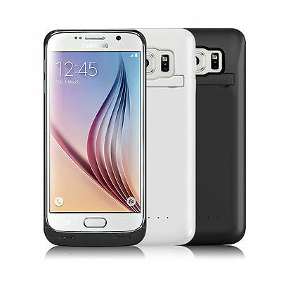 External Battery Backup Case Charger Power Bank For Samsung Galaxy S6 / S6 Edge