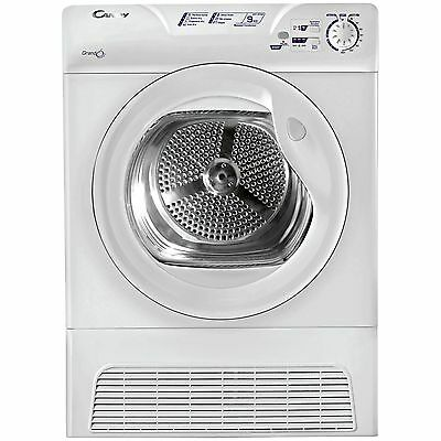 Candy GCC591NB Condenser Tumble Dryer 9KG - White -From the Argos Shop on ebay