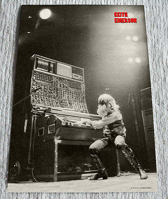 Emerson Lake and Palmer poster Keith Emerson stage Welcome Back Tour Live Poster