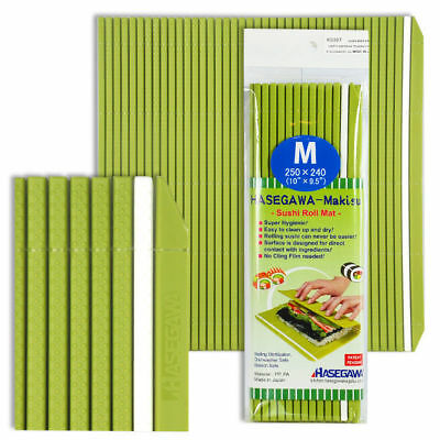 Japanese Sushi Rolling Mat Professional Grade Plastic Non- Stick/ Made in Japan