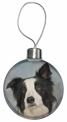 Border Collie Dog Christmas Tree Bauble Decoration Gift, AD-BC13CB