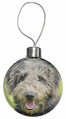 Beddlington Terrier Dog Christmas Tree Bauble Decoration Gift, AD-BED1CB