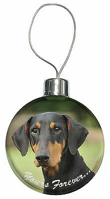 AD-RS2yCB Red Setter Dog /'Yours Forever/' Christmas Tree Bauble Decoration Gift