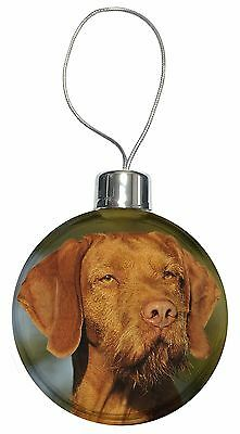 Hungarian Vizsla Wirehaired Dog Christmas Tree Bauble Decoration Gift, AD-HWV1CB