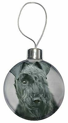 Kerry Blue Terrier Dog Christmas Tree Bauble Decoration Gift, AD-KB1CB