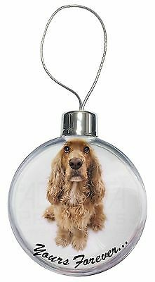 AD-SS6CB Liver Springer Spaniel Dog Christmas Tree Bauble Decoration Gift