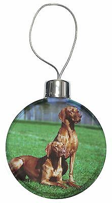 Hungarian Vizslas Christmas Tree Bauble Decoration Gift, AD-V1CB