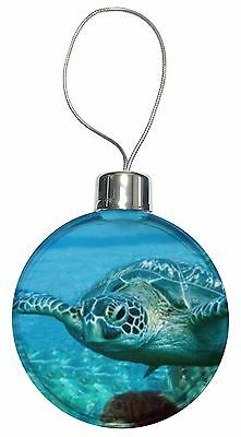 Turtle by Coral Christmas Tree Bauble Decoration Gift, AF-T20CB