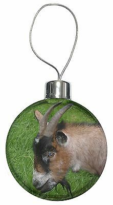 Cheeky Goat Christmas Tree Bauble Decoration Gift, AGO-1CB