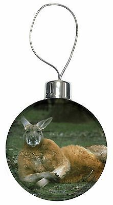 Cheeky Kangaroo Christmas Tree Bauble Decoration Gift, AK-1CB