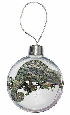 Chameleon Lizard Christmas Tree Bauble Decoration Gift, AR-L5CB