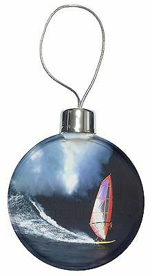 Wind Surfer Christmas Tree Bauble Decoration Gift, SPO-WS2CB