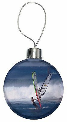 Wind Surfers Surfing Christmas Tree Bauble Decoration Gift, SPO-WS3CB