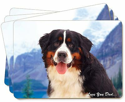 Bernese 'Love You Dad' Picture Placemats in Gift Box, DAD-8P