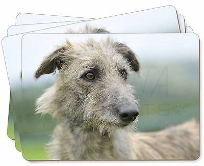 Rough Coated Lurcher Picture Placemats in Gift Box, AD-LU6P