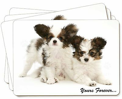Papillon Dogs 'Yours Forever' Picture Placemats in Gift Box, AD-PA66P