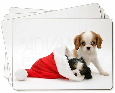 Christmas Sentiment Dog Picture Placemats in Gift Box, AD-SKC8P