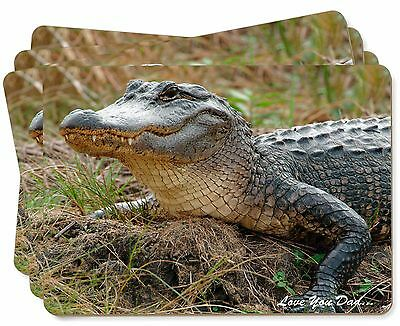 Crocodile 'Love You Dad' Picture Placemats in Gift Box, DAD-146P