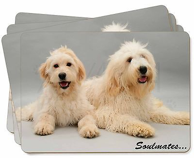 Labradoodle Dogs 'Soulmates'  Picture Placemats in Gift Box, SOUL-40P