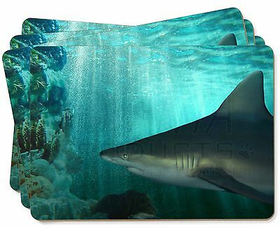 Shark Photo Picture Placemats in Gift Box, AF-SHA1P