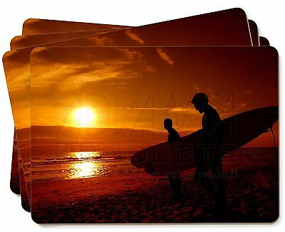 Sunset Surf Picture Placemats in Gift Box, SPO-S1P