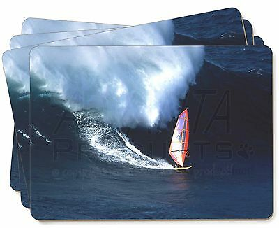 Wind Surfer Picture Placemats in Gift Box, SPO-WS2P