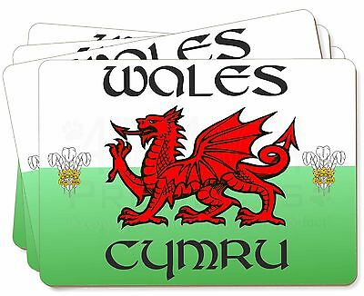 Wales Cymru Welsh Gift Picture Placemats in Gift Box, WALES-1P
